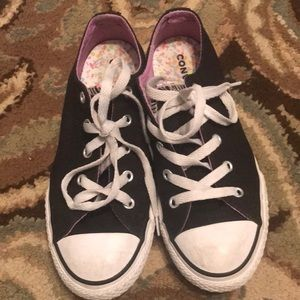 Girls Converse Sneakers-Size 2